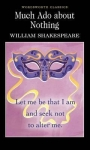 By author William Shakespeare, Series edited by Keith Carabine, Introduction and notes by Prof. Cedric Watts, Much Ado About Nothing