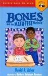David A. Adler, Bones and the Math Test Mystery (Puffin Easy-To-Read: Level 2)