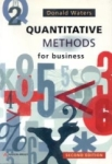 Donald Waters, Quantitative Methods For Bussines 2nd Edition