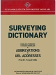 Dr. Turgut Uzel, Surveying Dictionary Abbreviations, URL Addresses English Turkish, Turkish English