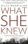 Gilly Macmillan, What She Knew