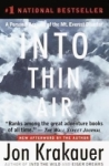 Jon Krakauer, Into Thin Air: A Personal Account of the Mount Everest Disaster