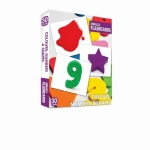 Komisyon, Miracle Flashcards Colours, Numbers and Shapes 30 Cards