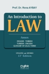 Rona Aybay, An Introduction to Law