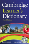 University Press, Cambridge Learners Dictionary Fourth edition