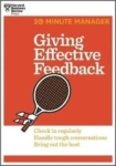 , Giving Effective Feedback (Paperback)--by Harvard Business Review [2014 Edition]