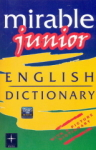 , Mirable Junior English Dictionary