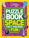 , Puzzle Book Space: Brain-tickling quizzes, sudokus, crosswords and wordsearches (National Geographic
