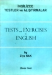 Ziya Sak, İngilizce Testler ve Alıştırmalar Tests and Exercises in English 1. Kitap